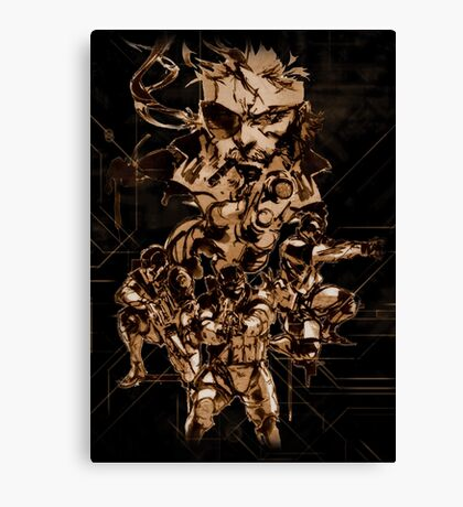 Metal Gear Solid (6 of 10) Canvas Print