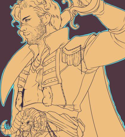 Pirate Cullen Sticker