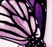 Monarch Butterfly, Purple Sticker