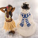 Snowman In Love  by susan stone