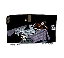 X-Files - Bed Photographic Print