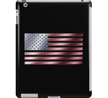 American Flag - USA - Metallic iPad Case/Skin