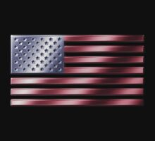 American Flag - USA - Metallic by graphix