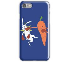 Carrot Knockout iPhone Case/Skin