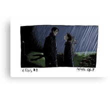 X-Files - Rain Canvas Print