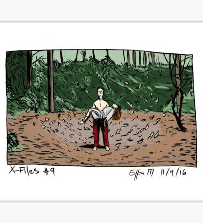 X-Files - Leaves Sticker