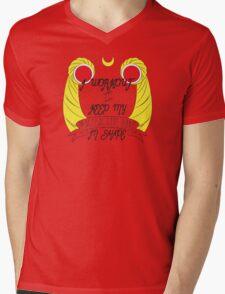 Magical Buns Mens V-Neck T-Shirt