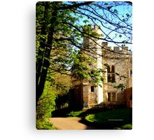 Medieval Manor Canvas Print