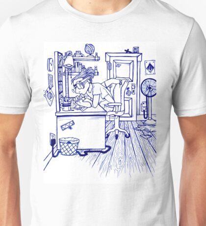 four armed boy.  Unisex T-Shirt