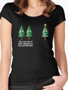 Chirstmas Puns Women's Fitted Scoop T-Shirt