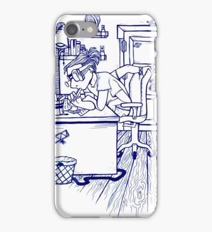 four armed boy.  iPhone Case/Skin