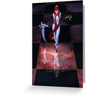 The Reaper Reborn Greeting Card