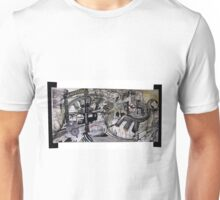 Reflection on Capitalism and its Downfall Unisex T-Shirt