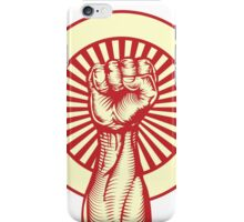 Revolution Fist iPhone Case/Skin