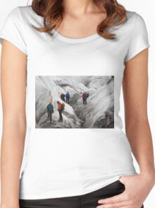 Glacier Work Women's Fitted Scoop T-Shirt