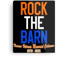 Rock the Barn!  Metal Print