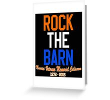Rock the Barn!  Greeting Card