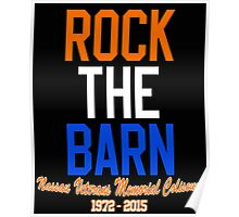 Rock the Barn!  Poster