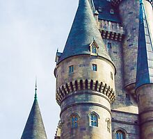 hogwarts castle. by Diana Kelly