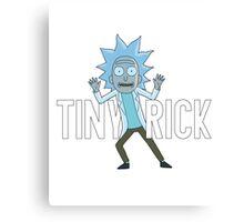 Tiny Rick Canvas Print