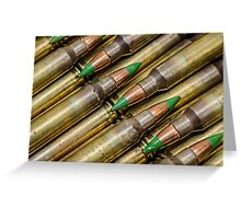 Green Tips Greeting Card