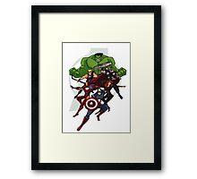 Avengers Assemble Framed Print
