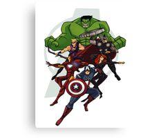 Avengers Assemble Canvas Print