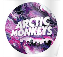 Arctic Monkeys Marble Poster