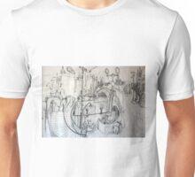 Amalgam of Melbourne Landmarks I studied Unisex T-Shirt