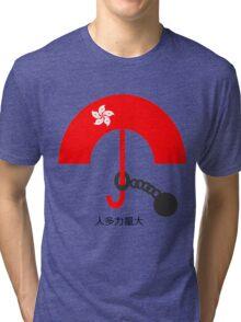 Umbrella Revolution - Strength in Numbers  Tri-blend T-Shirt