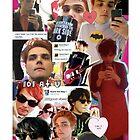 Gerard Way Collage by MissKyleighJ