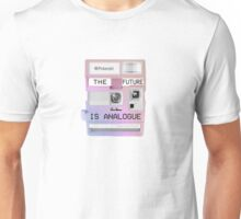 The future is analogue Unisex T-Shirt