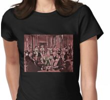 Roughhouse Clara Boxing Womens Fitted T-Shirt