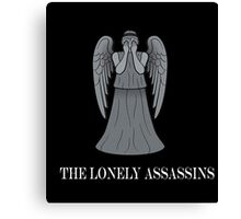 the lonely assassins - Weeping Angels Canvas Print