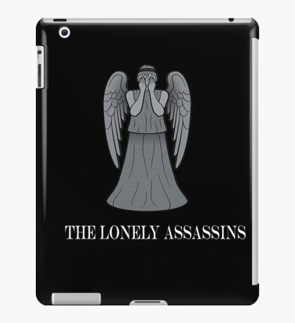 the lonely assassins - Weeping Angels iPad Case/Skin