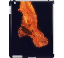 iPad Case.  Lava Flow at Kalapana 3. iPad Case/Skin