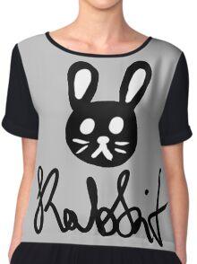 Rabbit Chiffon Top