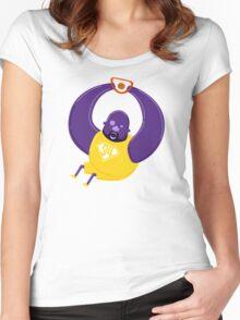 Super Shaq Women's Fitted Scoop T-Shirt