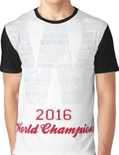 FLY THE W 2016 WORLD CHAMPIONS T-Shirt Graphic T-Shirt