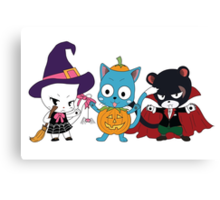 Fairy Tail Halloween Costumes Canvas Print
