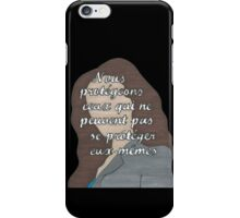 Allison Quote- Number Five in a Series iPhone Case/Skin