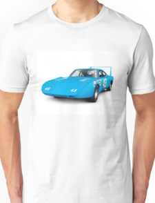 1970 Plymouth Superbird retro race car art photo print Unisex T-Shirt