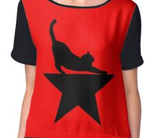 Hamilcat 2.0 for Hamilton Musical Fans Chiffon Top