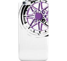 Purple and Black Rim iPhone Case/Skin