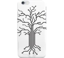 Digital tree circuits concept art photo print iPhone Case/Skin