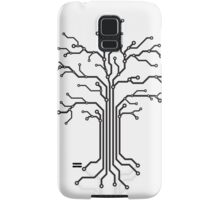 Digital tree circuits concept art photo print Samsung Galaxy Case/Skin