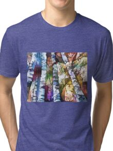 White Trees Tri-blend T-Shirt