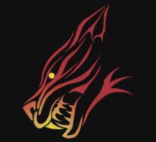 Tribal Firecat  One Piece - Short Sleeve