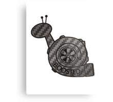 Carbon Fibre Boosted Turbo Snail Metal Print