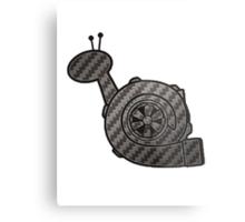 Carbon Fibre Turbo Snail Metal Print